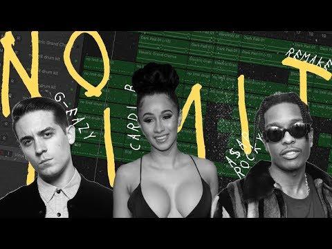 Making a Beat: G-Eazy - No Limit ft. A$AP Rocky, Cardi B (Remake)
