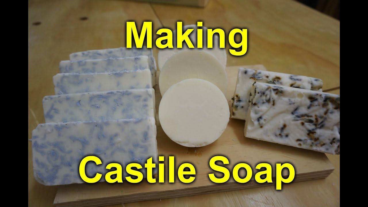 making castile soap plain lavender irish spring youtube. Black Bedroom Furniture Sets. Home Design Ideas