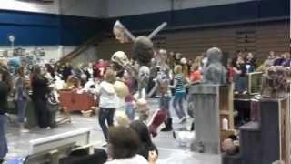Crestline High School 2012 Arts & Crafts Show Flash Mob