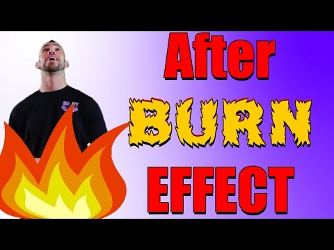 Afterburn Effect | after burn effect | BEST EXPLANATION EVER!!!!