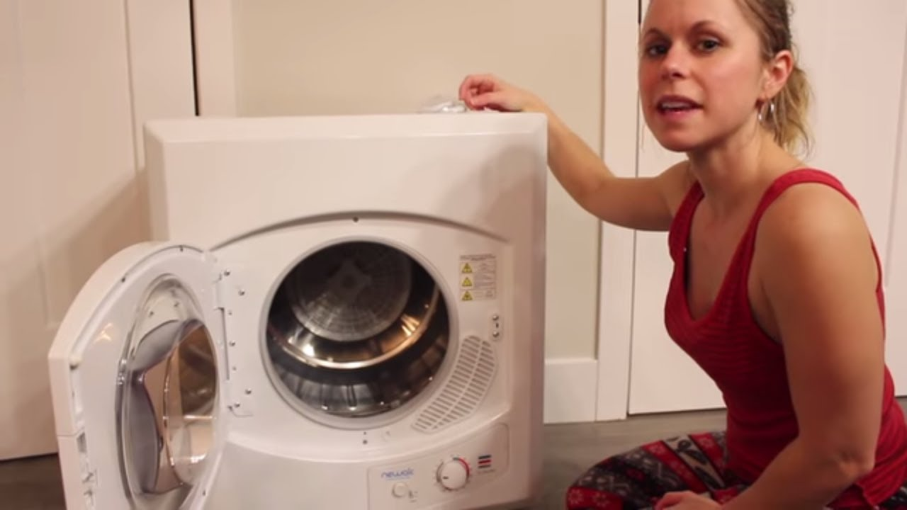The Newair Portable Mini Dryer Minidryer 26w Review Youtube