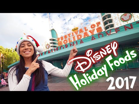 Festival of Holidays 2017 | Disney Holiday Food