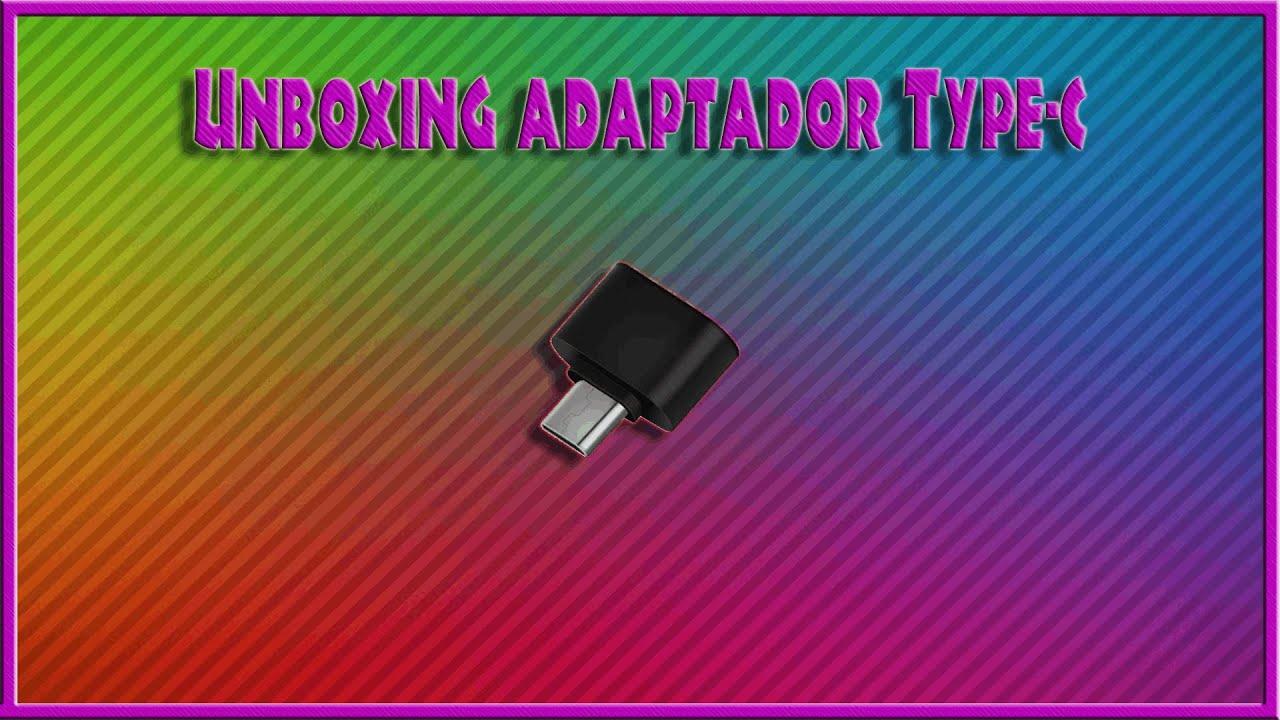 Unboxings Aleatórios #3 Adaptador Tipo-c para 2.0 (OTG)