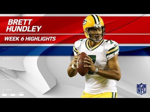 Brett Hundley Fills in for Rodgers vs. Minnesota | Packers vs. Vikings | Wk 6 Player Highlights
