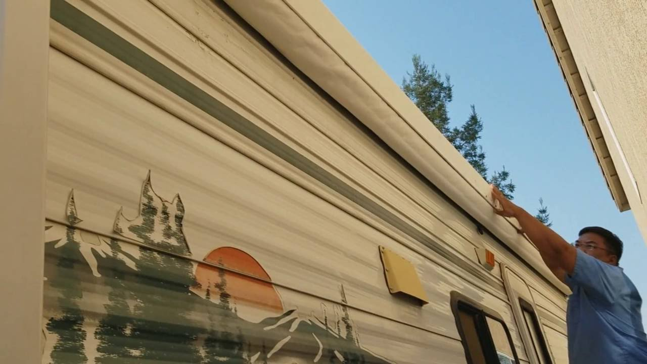 RV Awning Protector - YouTube
