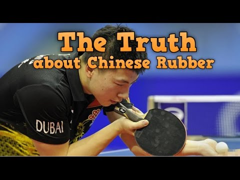 The Truth about Chinese Rubbers | Ma Long Forehand Rubber