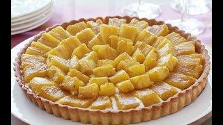 كيكة الأناناس - Pineapple Cake - Tarte à l'ananas