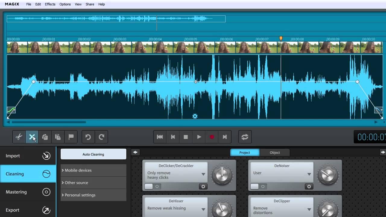 magix audio cleaning lab tutorial