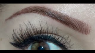 Eyebrow Tattoo | Before & After