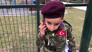 BORDO BERELİ ASKERİN REHİNE KURTARMA OPERASYONU