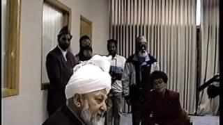 Hazrat Khalifatul Masih IV Visits Baitul Qadir Mosque, Milwaukee
