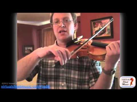 How To Learn And Play Ricochet On The Violin - Wohlfahrt's Studies