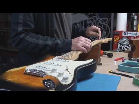 Keith Richards 5 String Guitar Setup