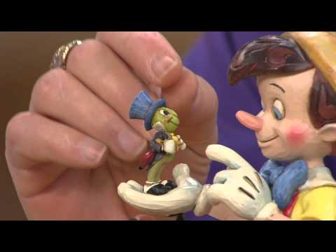 Jim Shore Disney Traditions Pinocchio 75th Anniversary with Stacey Stauffer
