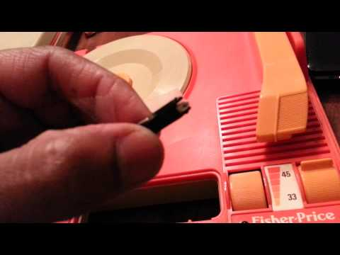 Fisher Price Portable #820 Turntable - Pt 2 Of 2- Needle On!