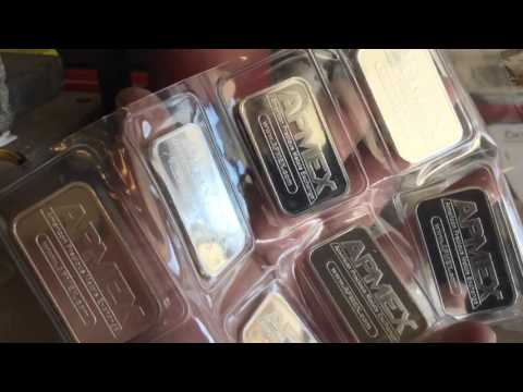 .999 Silver Shot & APMEX Bars: Stacking Silver