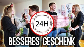 Wer macht in 24 Stunden das bessere GEBURTSTAGSGESCHENK ?! Max vs Chris