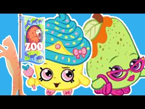 SHOPKINS TRAVEL COMPILATION: SHOPKINS SEE ANIMALS AT THE ZOO | Wildbrain Toy Club - Fun For Kids!