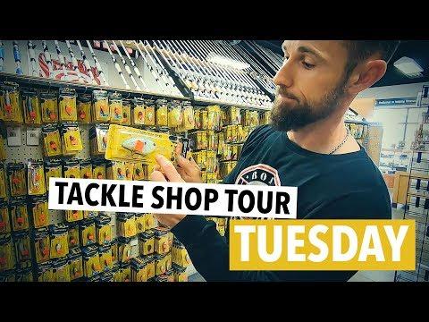 Tackle Shop Tour - Sportsmans Factory Outlet