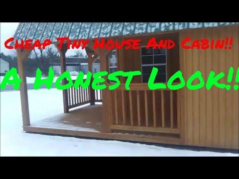 Prebuilt Homes -Off Grid Cabin - Tiny house - Under 7k