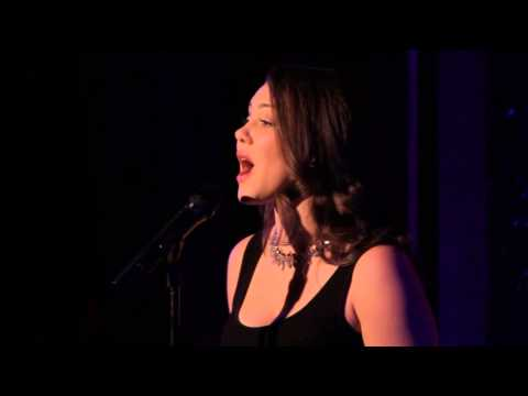 Andrea Ross at 54 Below- Unexpected Song
