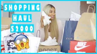 One of Sherlina Nym's most viewed videos: HUGE TRY ON HAUL 2017 | Zara, Topshop, Asos, Bershka etc. | SHERLINA NYM
