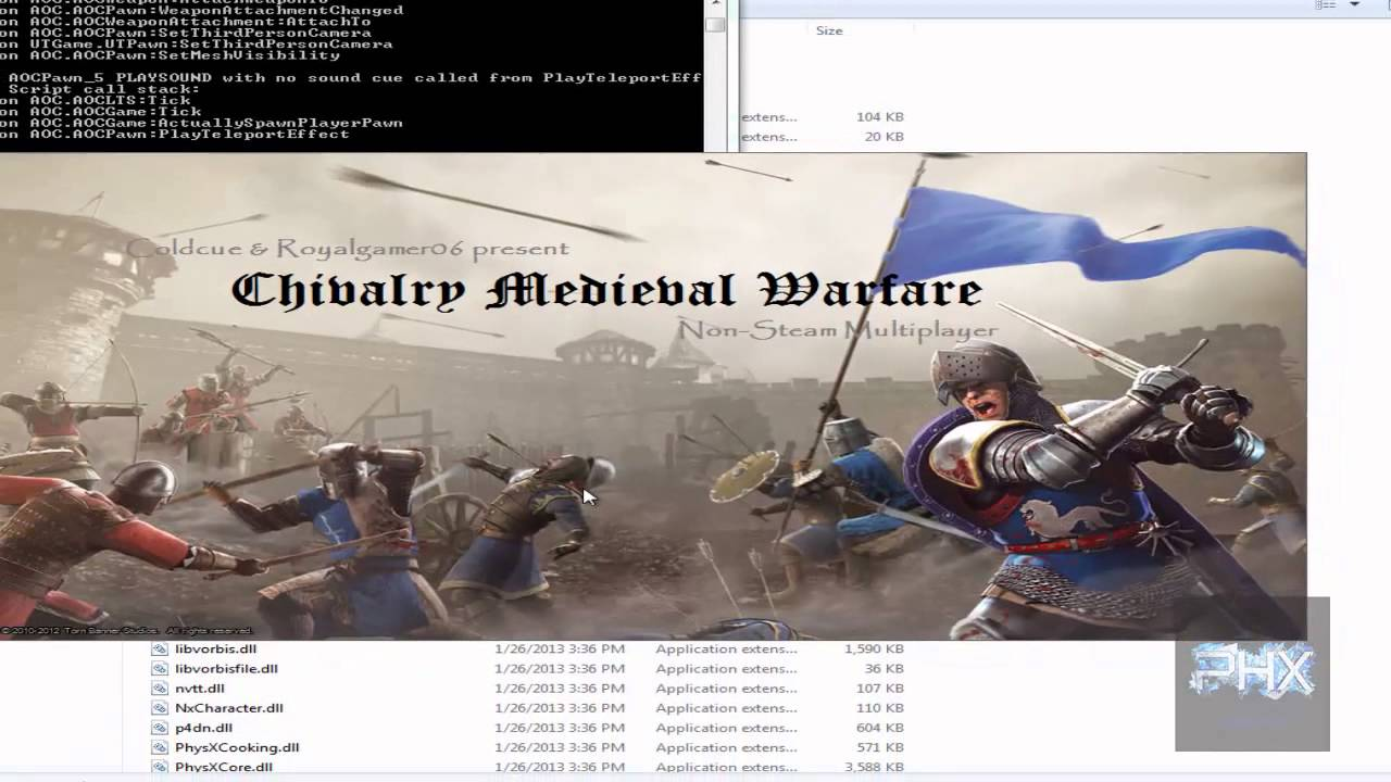 how to use commands in chivalry