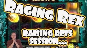 GREAT RUN on Raging Rex raising bets!