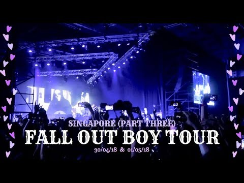 Singapore (Part 3): MANIA Inspired Makeup & Fall Out Boy Live!!