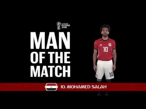 MOHAMED SALAH (Egypt) - Man of the Match - MATCH 34