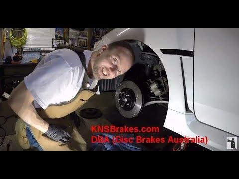 2015 Subaru WRX Ep. 884: Installing DBA Brake Rotors And Pads -- KNSBrakes.com