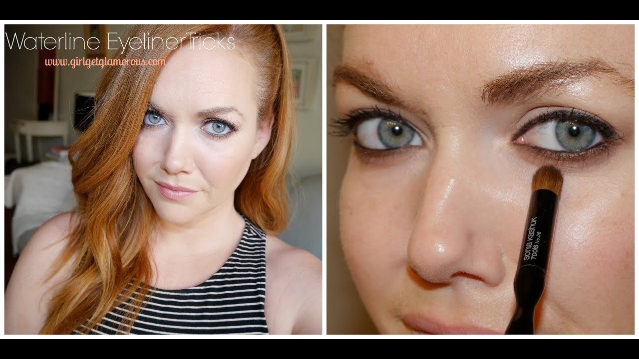 How to do Waterline Eyeliner and Make It Last