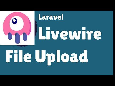 Laravel Livewire - New File Upload With Zero Config