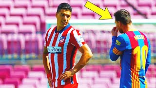 THIS IS WHAT MESSI DID WHEN HE SAW LUIS SUAREZ AGAIN! BARCELONA ATLETICO