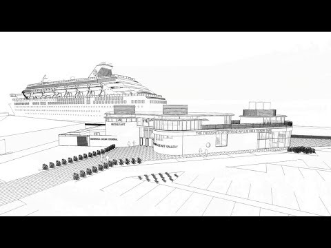 Greenock Ocean Terminal Development - Walk Through