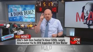 Cramer: AT\u0026T a cautionary tale on chasing dividend stocks