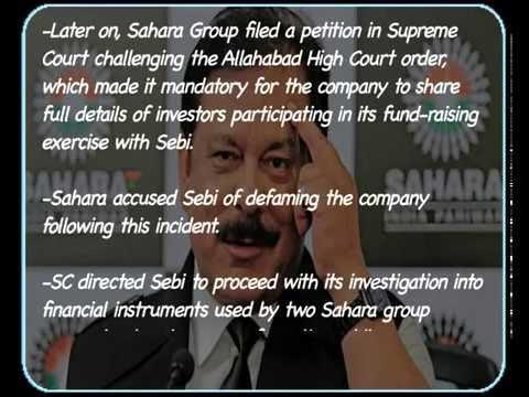 Subrata Roy arrested  Highlights of the Sahara SEBI tussle