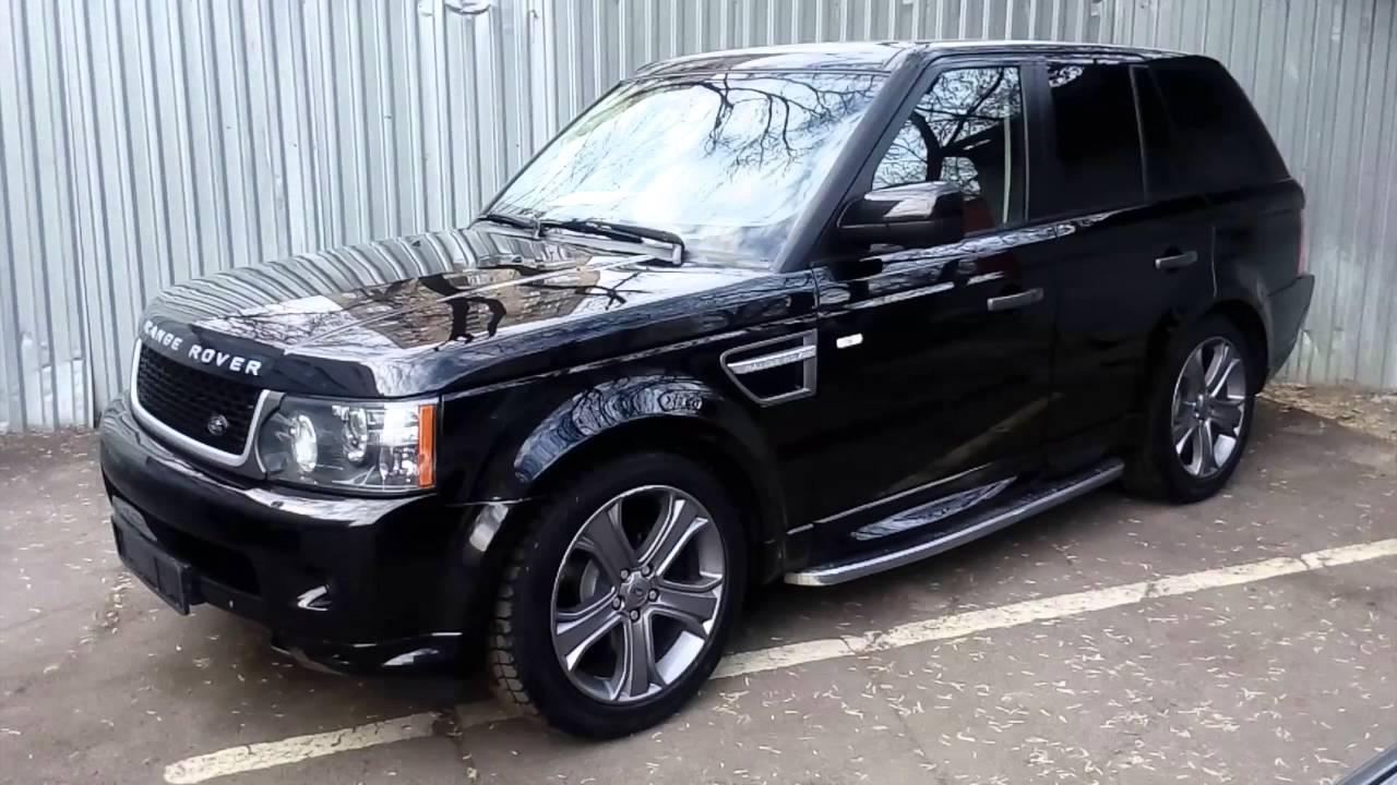 Новый Range Rover Sport Coupe 2018 - YouTube