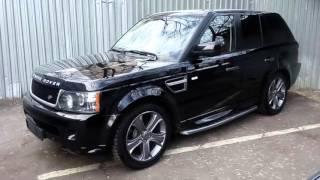 Купить Range Rover Sport HSE дизель 2011 черный