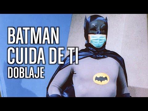 Batman contra los que no llevan mascarilla (DOBLAJE)
