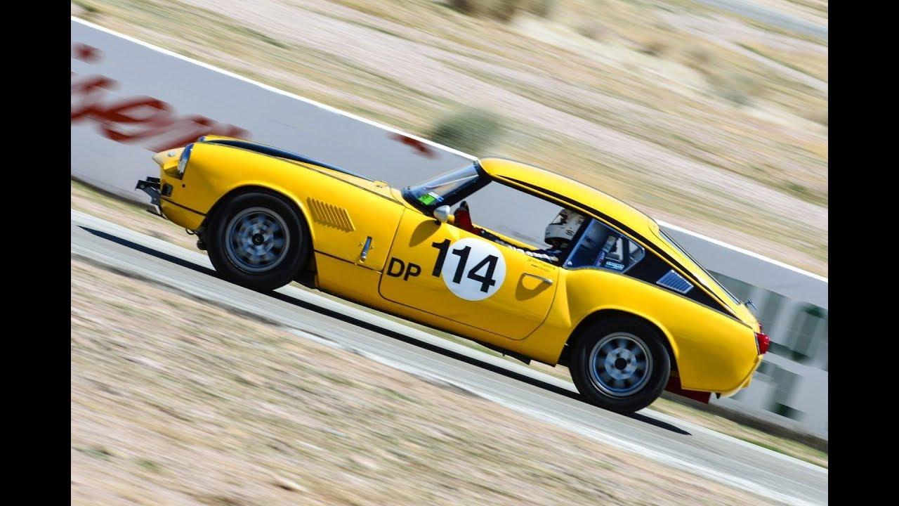 Triumph GT6 VARA High Desert Challenge 2018 Group 3 Flag Race - YouTube