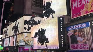 ニューヨーク・タイムズスクエア・ミッドナイトモーメントNewYork TimesSquare Midnight Moment