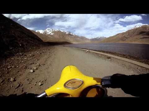 Tour de Himalayas on a 1962 Vespa Scooter GoPro