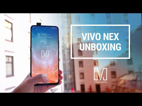 Vivo NEX Unboxing & Hands-On: The Future!