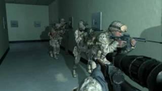 Call of Duty 4 Modern Warfare Gameplay on HD3300