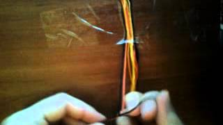 Плетем фенечки. Видео - урок №1.(, 2013-05-12T14:14:30.000Z)