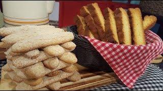 Vainillas y bay biscuits caseros