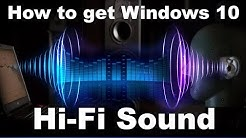How to Improve Sound Quality Output from Windows 10/8/7 - 2020 Working Tutorial