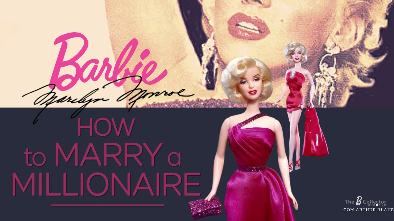 Barbie Marilyn Monroe - How to Marry a Millionaire