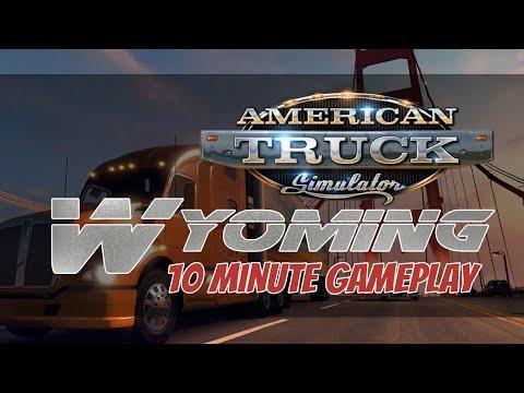 American Truck Simulator Wyoming DLC - 10 Minute Gameplay - RTX 3060 - Max Settings - 1080p |